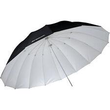 Westcott 4634 7' Parabolic Umbrella (White / Black)