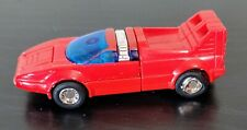 Vintage 1982 Gobots Turbo Bandai Japan Tonka Mr-07 red car transformer