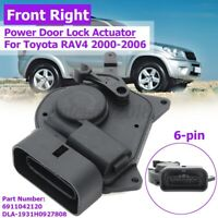 RH RHS Front Right Power Door Lock Actuator Fits For Toyota RAV4 RAV 4 2000-2006