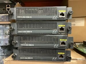 ASA Ssm-10. Cisco modules