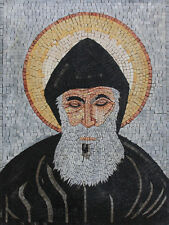 Blessed Saint Charbel Lebanese Saint Marble Mosaic FG1052
