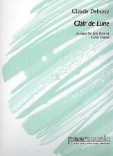 Claude Debussy -- Clair de Lune -- Solo Harp Sheet Music