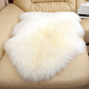 Real Genuine Sheepskin Rugs Real Lambskin Rugs Bed Sofa Mat Carpets