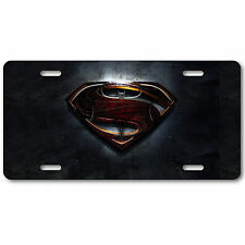 Batman Superman License Plate Tag Aluminum Baked on Finish Cool New Gothem City
