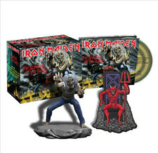 Iron Maiden - The Number Of The Beast Metal CD + Patch and Figure TOY BOX SET