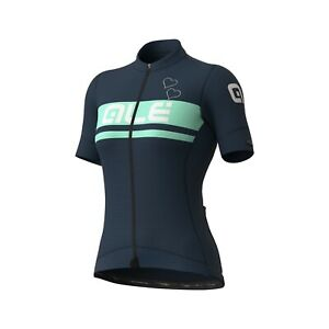 Ale Cycling Woman Short Sleeve Jersey PR-S Crystal Blue|Size S-Authentic-NEW