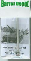 1/35 M18 tank destroyer 76mm M1A1 metal gun barrel ACADEMY Barrel Depot BD35051