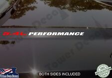 5.4L PERFORMANCE hood decal emblem fits: ford f150 f250 f350 Triton v8