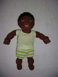 IKEA Jointed Plush Doll Lekkamrat African American Black Boy With Clothes