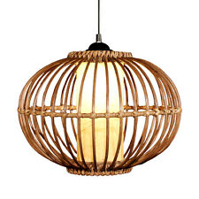 "New Handmade Rattan Restaurant Pendant Lamp 14"" Ceiling Dining Room Pendant lamp"