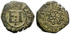 FELIPE IV. 4 CORNADOS. PAMPLONA, NAVARRA. 1624. INTERESANTE ACUÑACION.