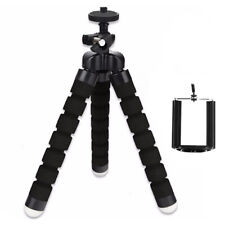Mobile Phone Mini Tripod Octopus Style Sponge Stand Flexible iPhone Samsung