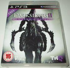 ** ** Darksiders II Edición Limitada Playstation 3/PS3 juego nuevo caso/disco De Menta