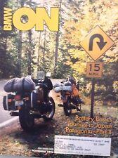 BMW ON Magazine Battery Basics And Touring Japan November 1996 011918nonrh