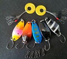Spoons 2,5g UL Trout Area 5er Forellenblinker Set Japanblinker S004