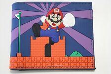 Super Mario Wallet Nintendo Bifold Men Coins Cards Notes