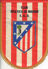 ORIGINAL FOOTBALL PENNANT ATLETICO DE MADRID (32 cm x 43 cm)