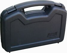 Gun Hard Carry Case Single Pistol Handgun Lock Storage Revolver Box Weapon Safe