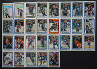 1990-91 O-Pee-Chee Edmonton Oilers Team Set of 29 Hockey Cards