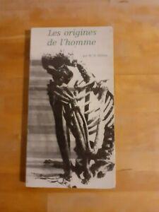 Les origines de l'homme - M.-H.  Alimen - Fayard (1962)