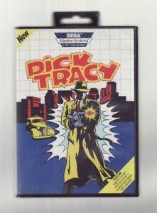 (Video Game) Dick Tracy / SEGA Master System 8-Bit Cartridge