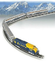 Spur N - Bachmann Zugset McKinley Explorer Alaska Railroad  -- 24023 NEU