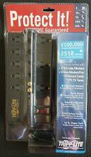 Tripp Lite Protect It! 8-Outlet Surge Protector - Modem/Coax/Ethernet Protection