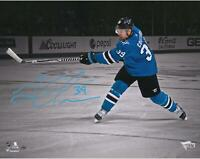 "Logan Couture San Jose Sharks Signed 11"" x 14"" Spotlight Photo - LE 39"