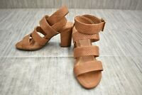 **VIONIC Blaire Ankle Strap Heels, Women's Size 5, Brown Snake NEW