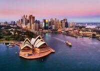 A4| Sydney Opera Poster Size A4 Australia Harbor Travel City Poster Gift #16274