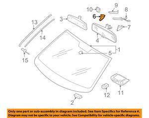 VW VOLKSWAGEN OEM 05-16 Jetta Windshield-Side Cover Right 1K08585489B9