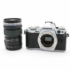 OLYMPUS OM-D E-M5 Mark II 12-50mm EZ Lens Kit Silver #256