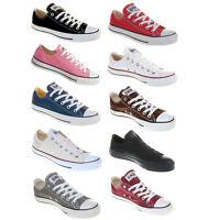 Converse Chucks All Star OX Femmes Hommes Tissu Chaussures Classique Nouveau