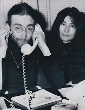 Yoko Ono John Lennon 1969 Tirage argentique postérieur circa 1990