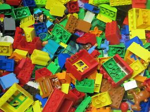 LEGO DUPLO Bausteine Steine Sondersteine Platten Figuren (Zustand/Menge wählbar)