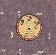 GEORGE HARRISON This Song / Learning How To Love You 45 - Beatles