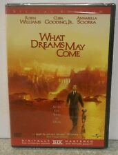 What Dreams May Come (Dvd, 2003) Rare Robin Williams Drama Brand New