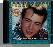 Bobby Darin - From Sea to Sea - New CD! Live, Rarities!