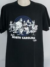 Velva Sheen XL Vintage 90s Looney Tunes That's North Carolina Folks Tee T-Shirt
