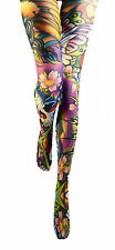 Floral Patterned Women's Tights