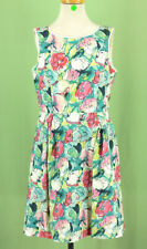 321 Bonpoint boutique girl dress multi-color floral EUC Size 12Y