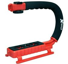 Opteka X-Grip Professional Camera/Camcorder Action Stabilizing Handle (Red)