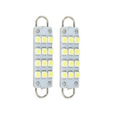 White 561 562 567 564 12 SMD 44mm Rigid Loop LED Car Signal Light Tail Bulbs