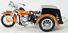 1947 HARLEY DAVIDSON SIDE CAR AND SERVICE CAR MODEL MOTORCYCLE 1:18 SCALE