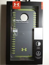 Under Armour UA Protect Grip Case For Moto Z2 Force Edition Graphite QuirkyLime