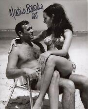 007 Bond girl Martine Beswick signed THUNDERBALL Connery photo