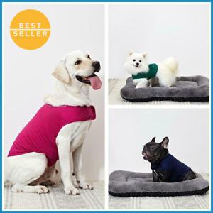 2021 Anxiety Vest Pet Calming Jacket Reflective Thunder Shirt Dog Coat Wrap SALE