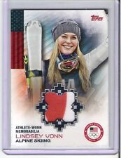 "Topps Olympic Team "" Lindsey Vonn "" Alpine Skiing ( two color )"