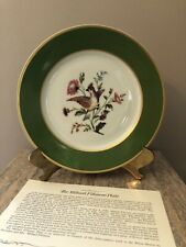 Danbury Mint Pres. Millard Fillmore White House Bavaria China Collector Plate