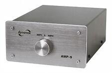 Dynavox AMP-S silber Verstärker / Boxen-Umschalter 2 zu 1 bis 200 W